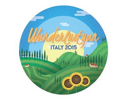 Wanderlustyan, Italy 2015