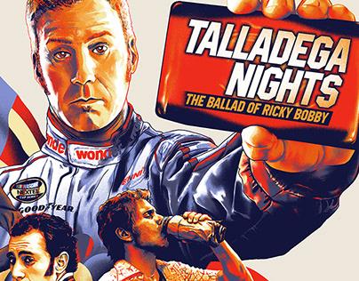 TALLADEGA NIGHTS poster