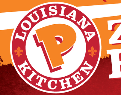 Popeyes November Special Banner & Window Cling