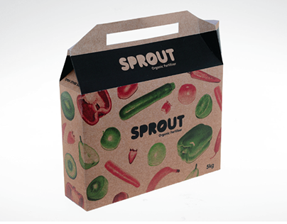 Sprout Organic Fertiliser Branding/Packaging
