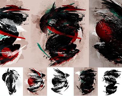 Bonjour Fractals (series 2): Paint with Fractals