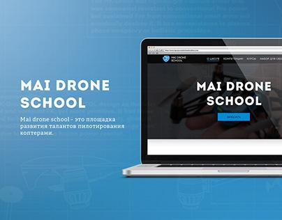 Mai drone school Web Design