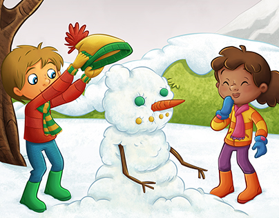 Snowball Fight (Children's Book)