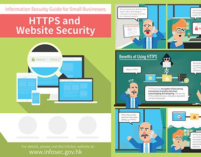 Cyber Security Tips Leaflet Design