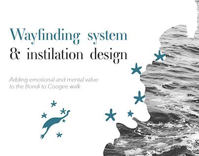 Wayfinding System & Instilation Design