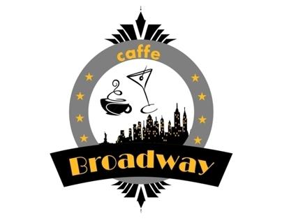 Caffe Broadway - caffe identity design