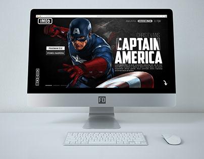 Avengers Web Site [IMDb] Cap. America - Thor - Iron-Man