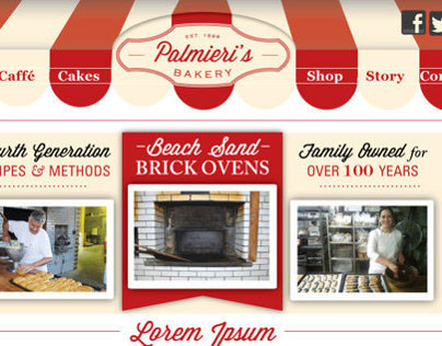 Palmieri's Bakery Branding