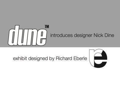 Exhibit Design: Dune introduced Nick Dine at ICFF
