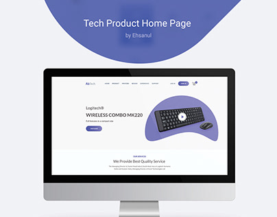 Tech Product Home Page [ Free Download ]