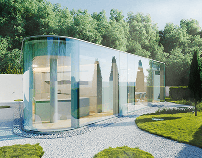 Lake Lugano House. Thanks Denis Kozhar for the tutorial
