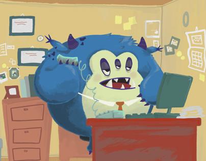 Monster at Work : Short Animation
