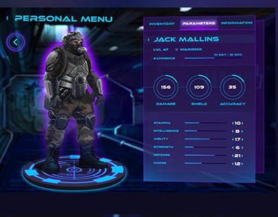 Game UI for Quantum Leap