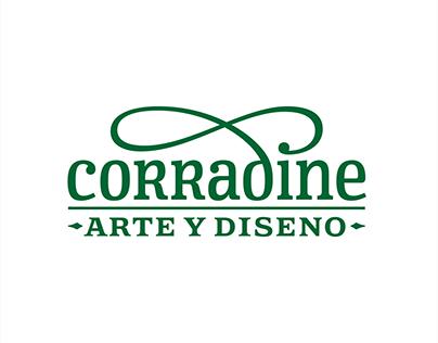 Logotipo - Corradine Arte y Diseño