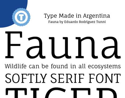 Fauna - Free Google Web Font