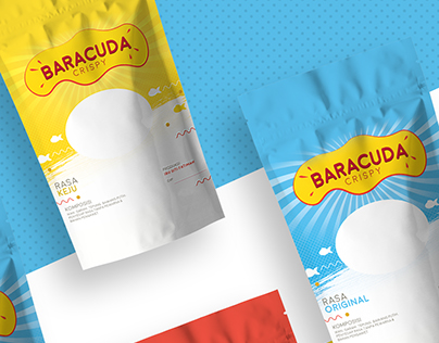 Baracuda Crispy Packaging Design