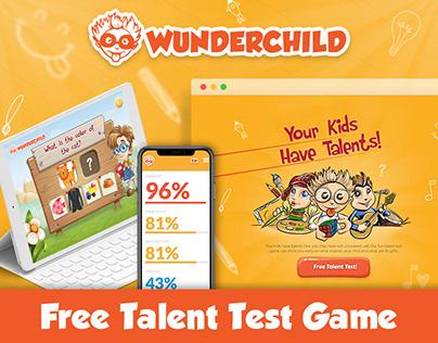 WunderChild - FREE Talent Test for Kids