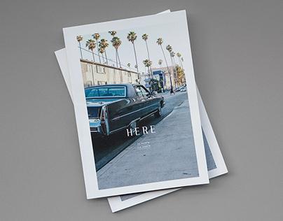HERE magazine — The Line Hotel Los Angeles