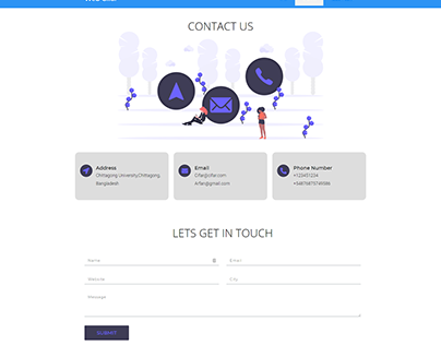 How To Create A Contact Page With Elementor | WordPress
