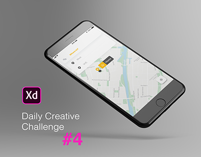XD Daily Creative Challenge #4 Order a Taxi