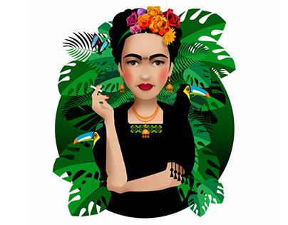 Portrait Frida Kahlo