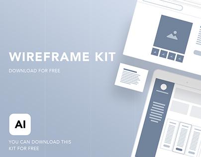 Wireframe Kit, AI