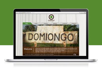 Comexaf Website and Logo