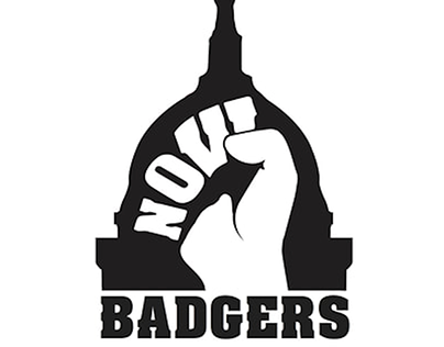 NOW Badgers Logo Design