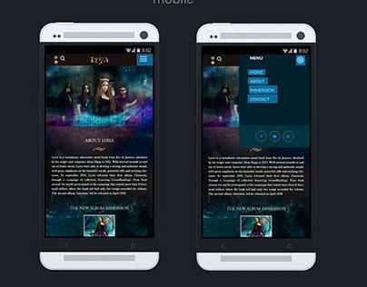 Redesign Website Artista