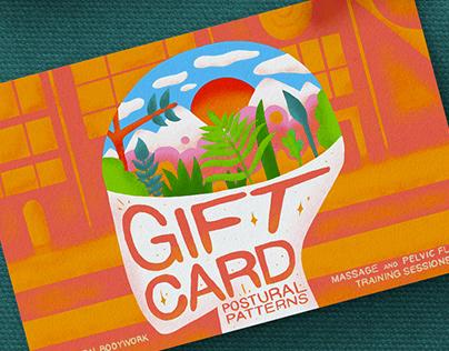 Gift cards for Postural Patterns