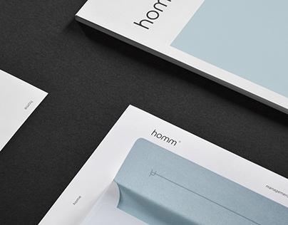 homm / Brand Identity