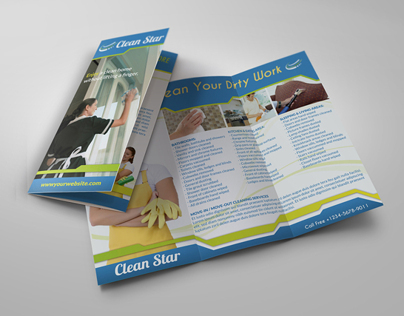 cleaning business brochures