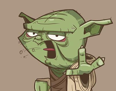 Master Yoda says...