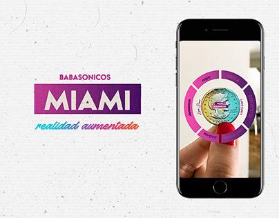 Diseño de la Información en RA -Miami,Babasonicos