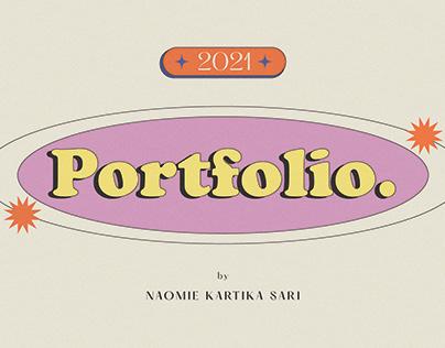 Portfolio 2021 | Naomie Kartika Sari