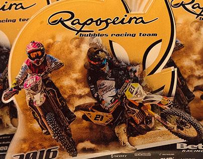Raposeira | Bubbles Racing Team '16 | Acrylic Trophies