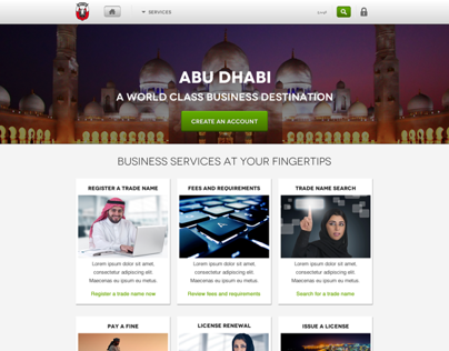 Abu Dhabi - Business Portal