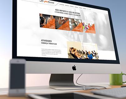 Website Performa Academia