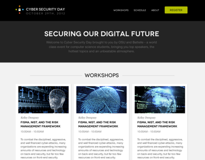 Cyber Day - Landing Page