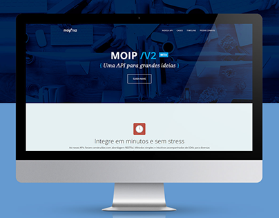 Moip V2 - Landing Page