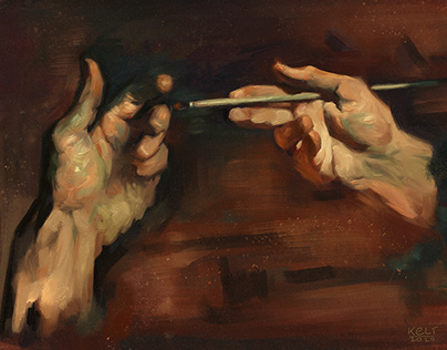 Hands Study from David A. Leffel
