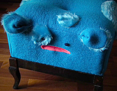 Otto-blue-man