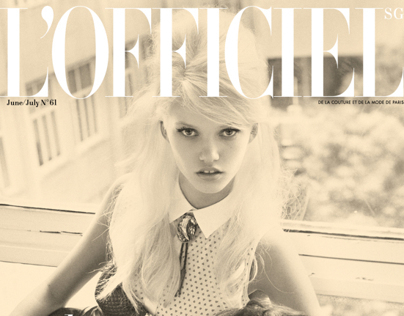 L'Officiel Singapore June – July 2013
