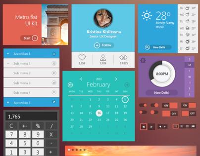 Metro Flat UI Kit - Free (Coming Soon)