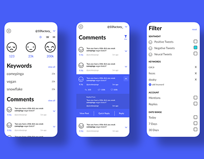 DaNotify Sentiment Analysis App