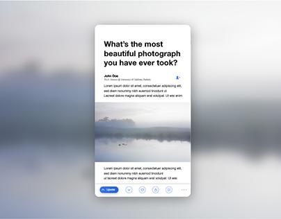 Quora App Redesign