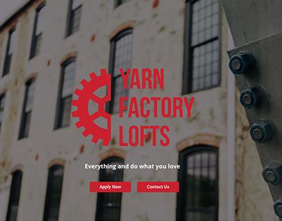 Yarn Factory Lofts Website