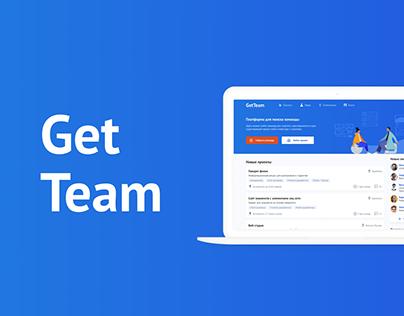 GetTeam — Find team for a startup