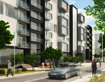 3D visualization of residential complex
