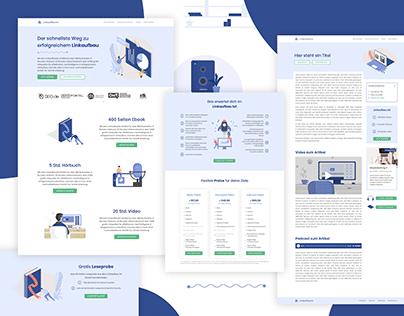 Linkaufbau - SEO Consulting Webdesign